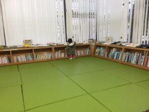 取手市立図書館のキッズスペース