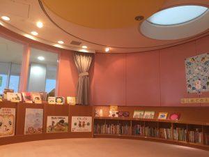 藤代図書館の児童書フロア