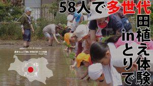 農家さんと一緒に本物の米づくり体験プログラム