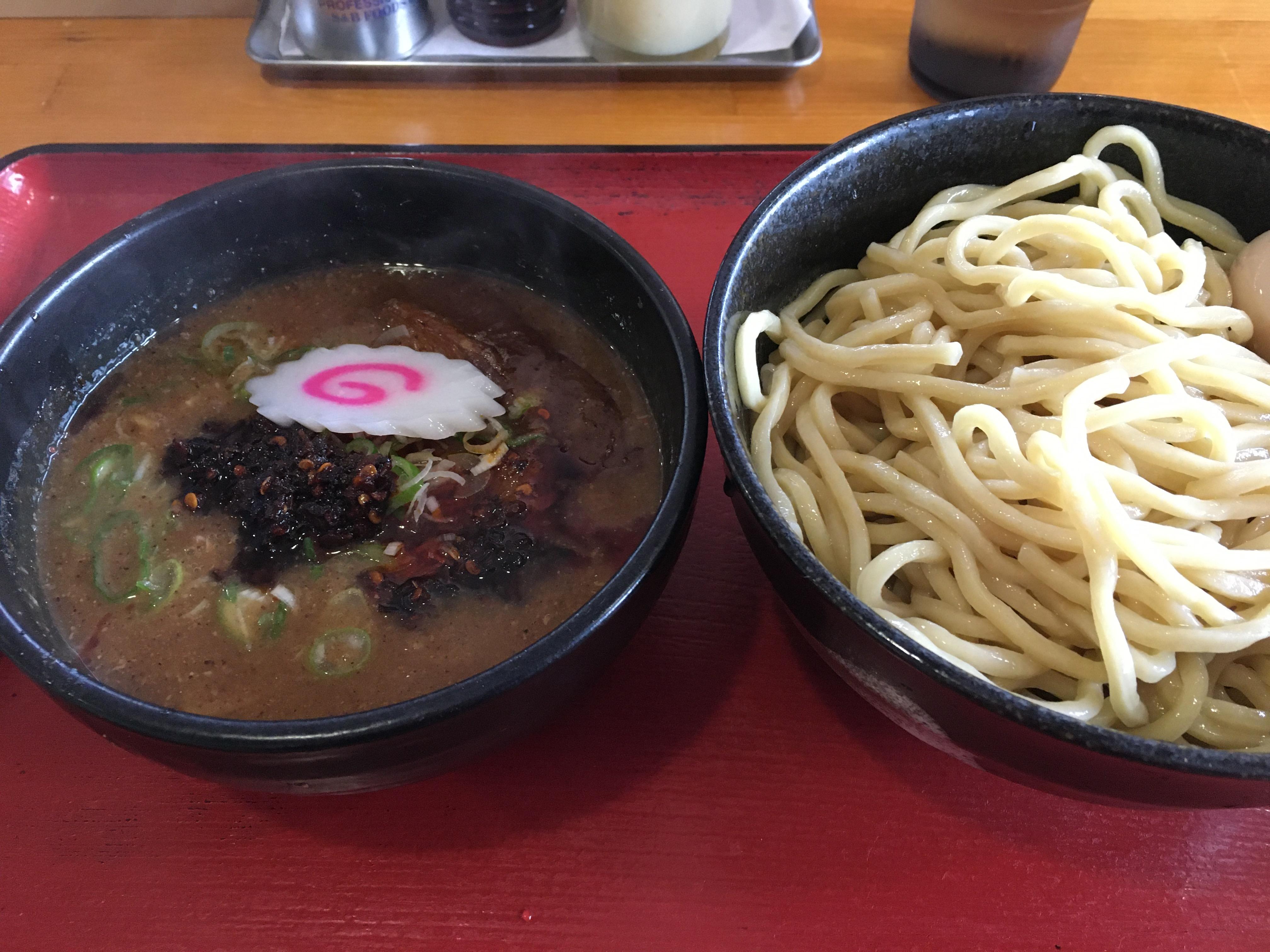 久兵衛 濃厚なスープのつけ麺が絶妙