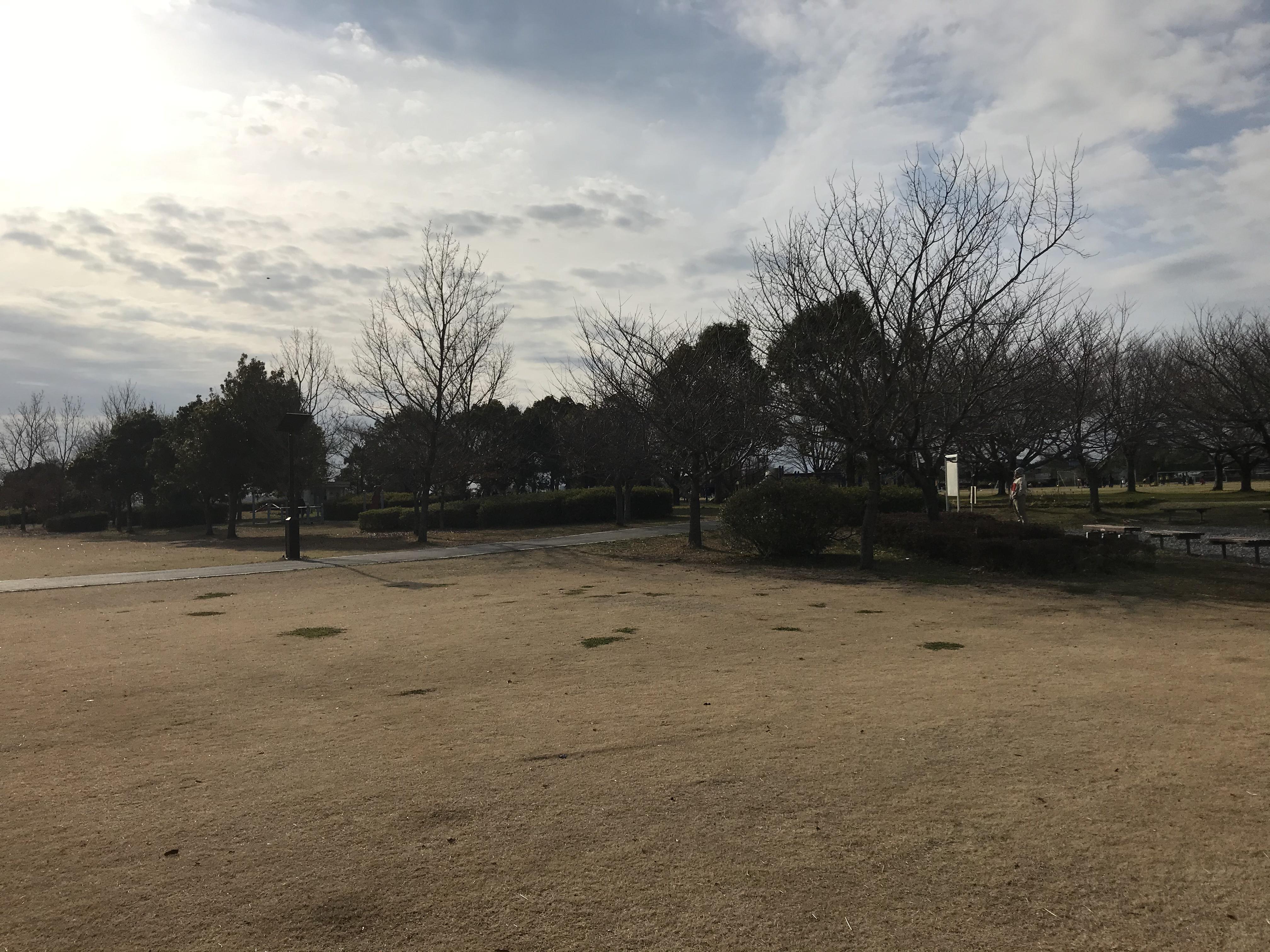 北浦川緑地へ行ってきました