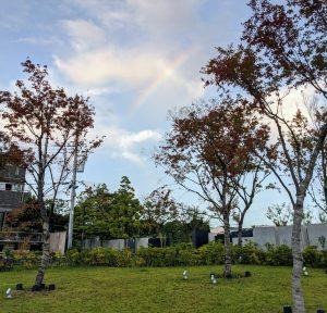 秋の虹、のつづきのつづき