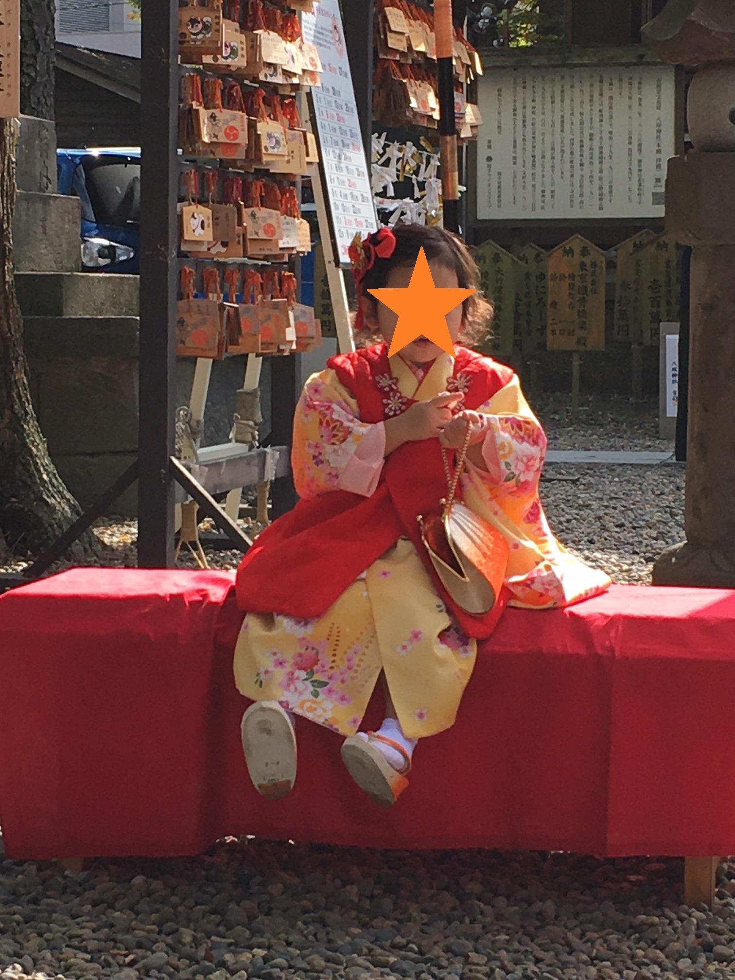 八坂神社で七五三