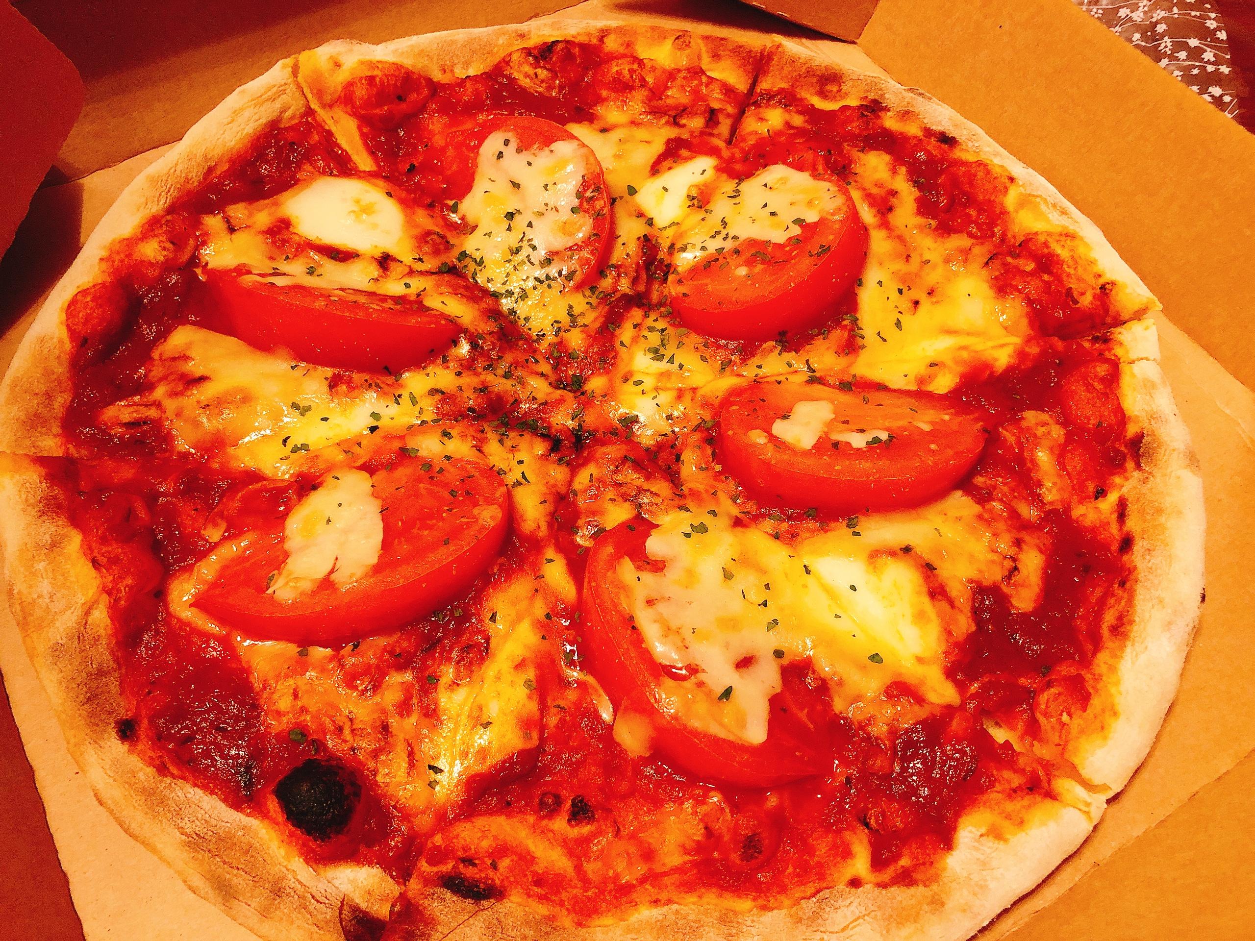 ゆめみ野にあるリコでピザをテイクアウト
